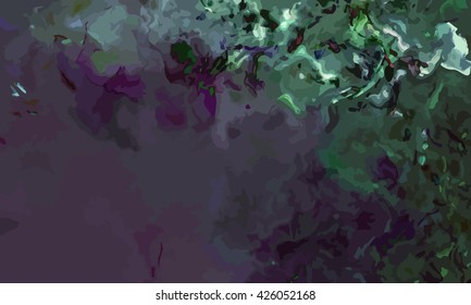 marble texture background. marble ink background. watercolor marble painting illustration in color black and green and grey.