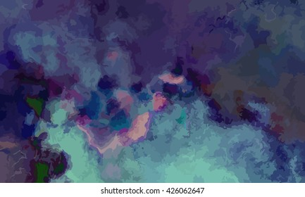 marble texture background. marble ink background. watercolor marble painting illustration in color black and green and violet purple.
