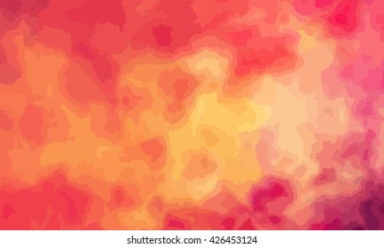 marble texture background. marble ink background. watercolor marble painting illustration in color red and orange and red.