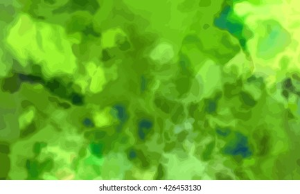 marble texture background. marble ink background. watercolor marble painting illustration in color green.