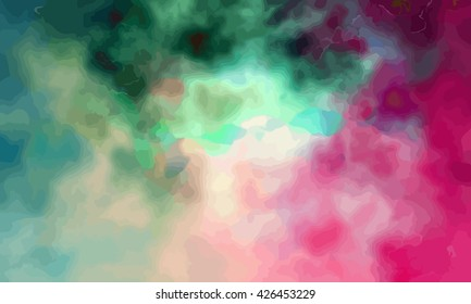 marble texture background. marble ink background. watercolor marble painting illustration in color pink and green and blue.