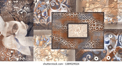 Marble wall tile , kitchen and bathroom tile,vintage background ,fabric texture , flower texture background for hd printing,website background, abstract home decorative art oil paint wall tiles design