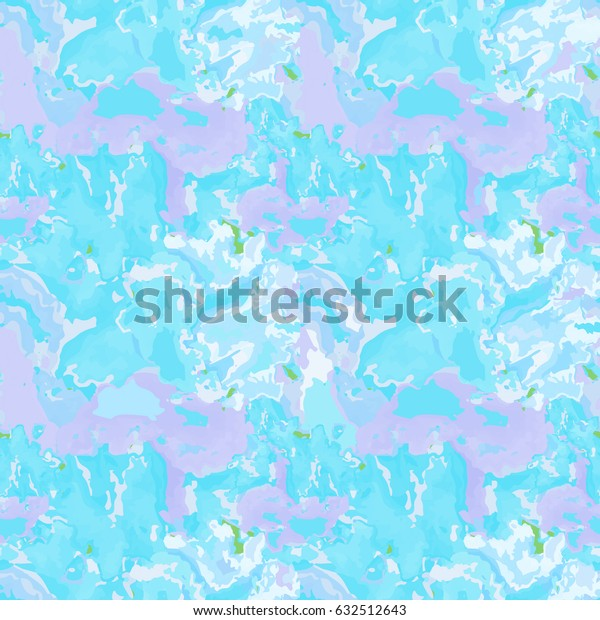 Marble watercolor effect Decorative deamless pattern