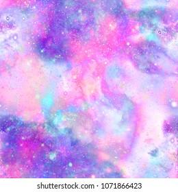 Marbled Galaxy Print
