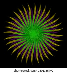 Mardi gras. Shrove Tuesday. Fat Tuesday. Template for invitation, ticket, banner. Colored feathers arranged in a circle