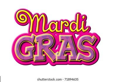 Mardi Gras type treatment