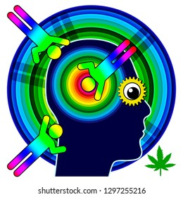 Marijuana blows your mind. Consuming cannabis alters the brain and makes you dull