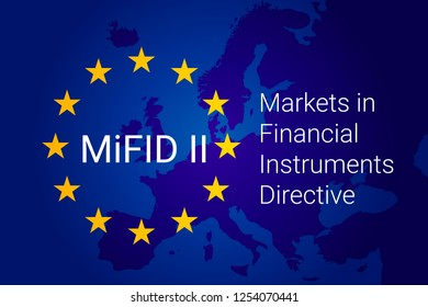 Markets in Financial Instruments Directive - MiFID II.  illustration