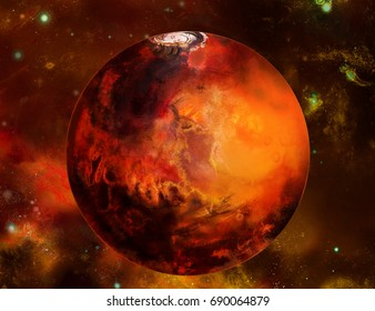 Mars planet beyond our solar system