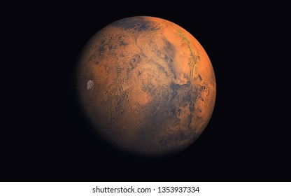 Mars Planet, Elements of this image furnished by NASA