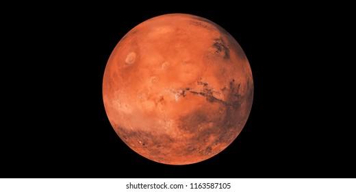 Mars planet red