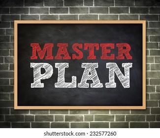 MASTER PLAN - Blackboard concept