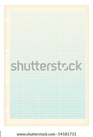 maths inspired graph paper small squares stock illustration 54581731