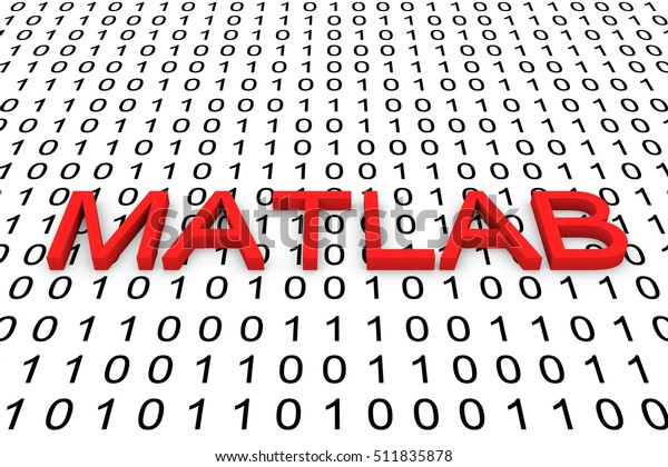 Matlab Programming Language Binary Code 3d Stock Illustration 511835878