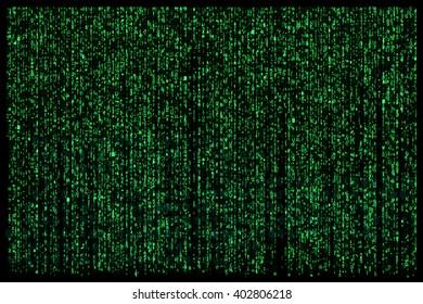 Matrix digital background