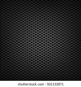 matte black mesh metal grill texture