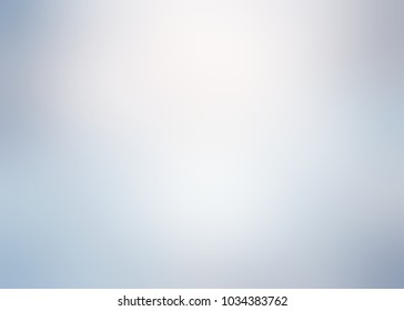 Matte blue grey metal glow. Empty background frosty. Abstract pattern smoke. Blurry texture. Defocus template.