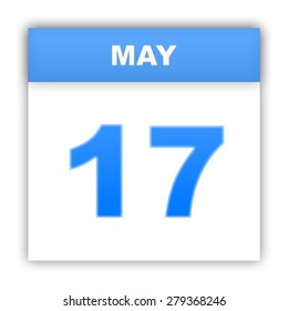 May 17. Day on the calendar. 3d