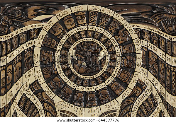 Mayan calendar distorsion