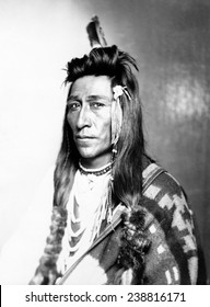 Measaw of the Shoshone Nation. Ca 1899