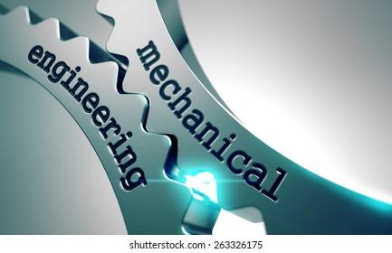 Mechanical Engineering on the Mechanism of Metal Gears.