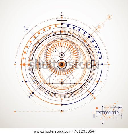 Royalty Free Stock Illustration Of Mechanical Scheme Engineering