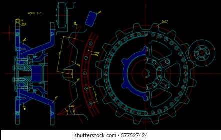 mechanichal piece computer design