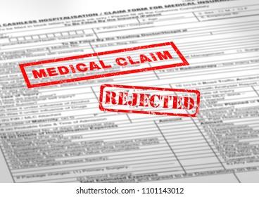 medical claim rejected