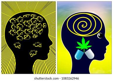 Medical Marijuana for Migraines. Reducing severe headache pain through cannabis pills