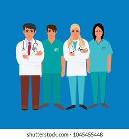 medical personal, doctor, LPN, RN, CNA