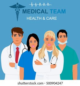 medical team and health care concept