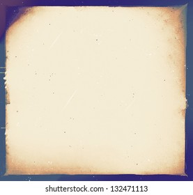 medium format filmstrip with grain textured and grunge border