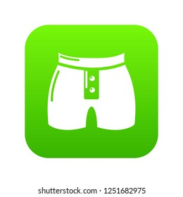 Men brief fashion icon. Simple illustration of men brief fashion icon for web