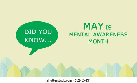 Mental awareness month