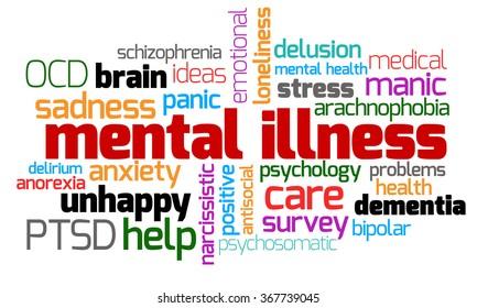 Mental Illness Keywords