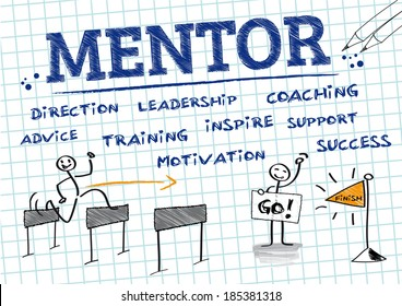 Mentorship is a personal developmental relationship in which a more experienced or more knowledgeable person helps to guide a less experienced or less knowledgeable person