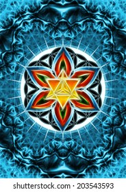Merkaba, Flower of Life, Sacred Geometry