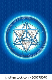 Merkaba, Metatrons Cube, Sacred Geometry