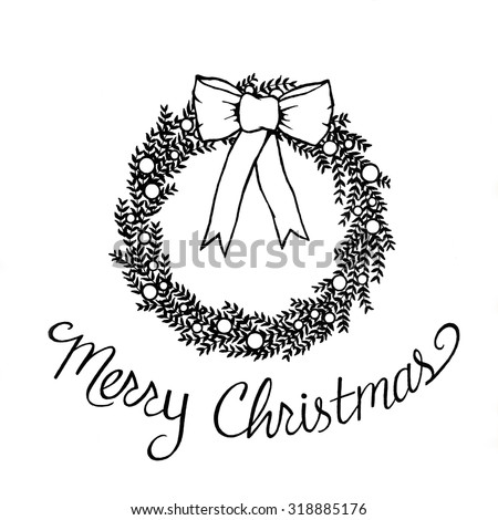 Royalty Free Stock Illustration Of Merry Christmas Clipart Abstract