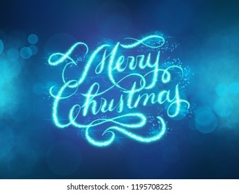 Merry x mass images stock photos vectors shutterstock merry christmas hand lettering shining inscription x mass greeting card illustration m4hsunfo