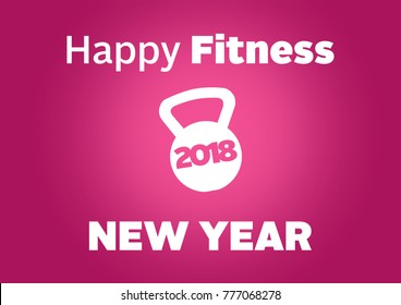 Merry Fitness Christmas and Happy new year wallpaper