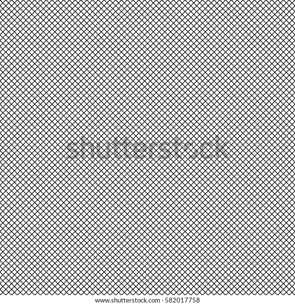 Mesh of lines repeatable pattern. Simple geometric texture with grid of straight parallel stripes, lines