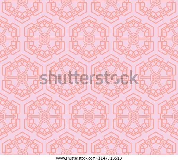Mesh seamless geometric pattern.   abstracttexture with curved lines, delicate mesh, net, grid, lace.