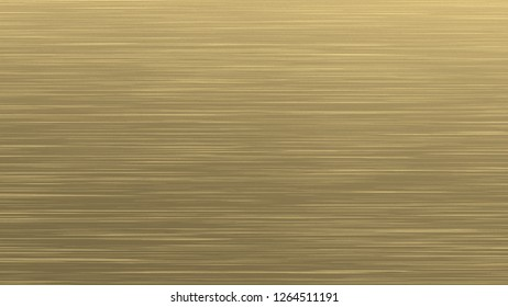 metal background gold hair line 3d rendering