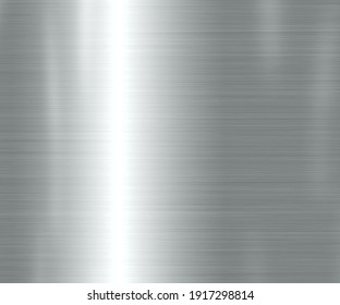 Metal background or texture of light brushed steel