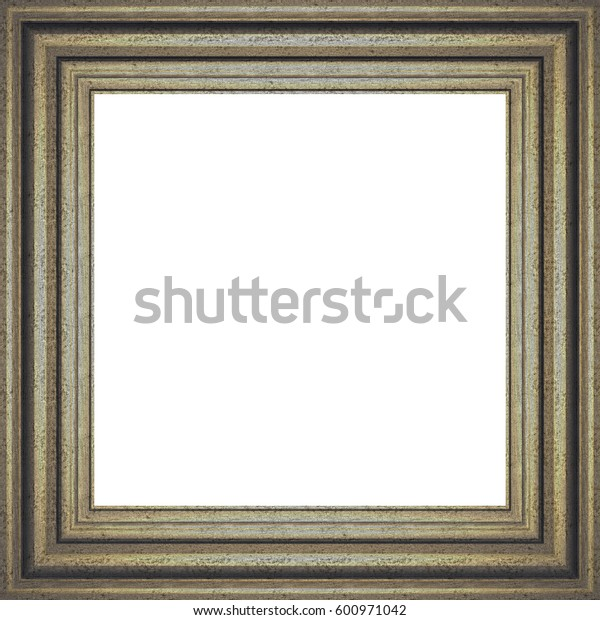 Metal Frame. 3D rendering. Textures or background.