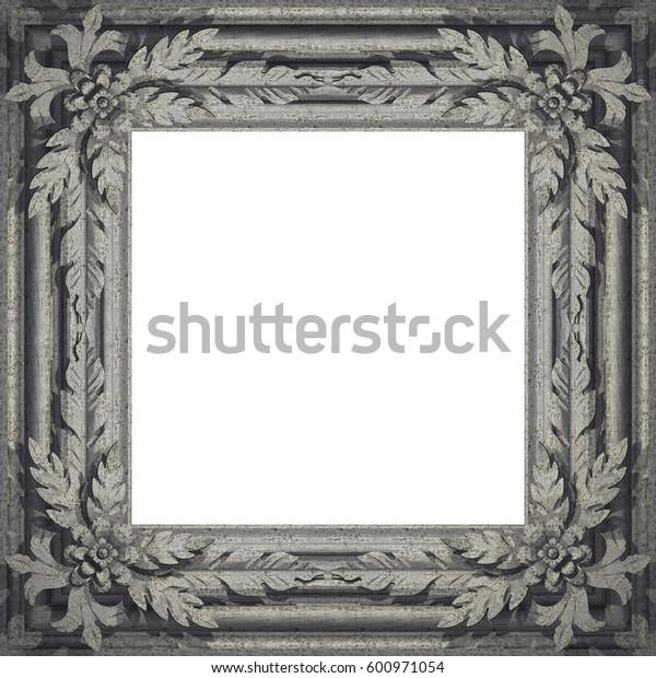 Metal Frame.. 3D rendering. Textures or background.