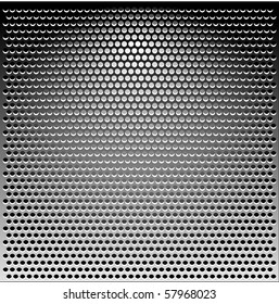 Metal Grid grey texture background illustration