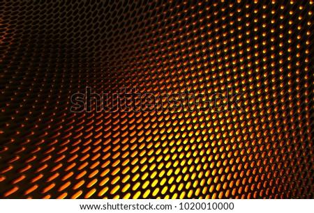 metal mesh grild abstract 3 d rendering stock illustration