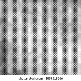 Metal plate background with stainless steel abstract